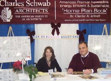 Image of Charles M. Schwab at World Congress of Disabilities Expo. in Philadelphia.