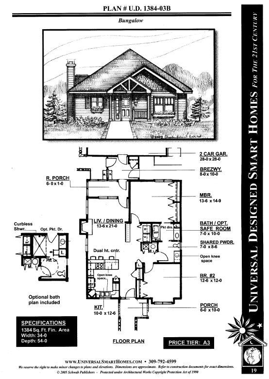 Universal design smart homes Universal house plans